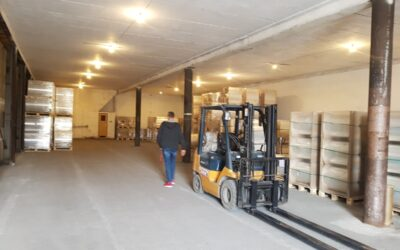 New warehouse in Płock
